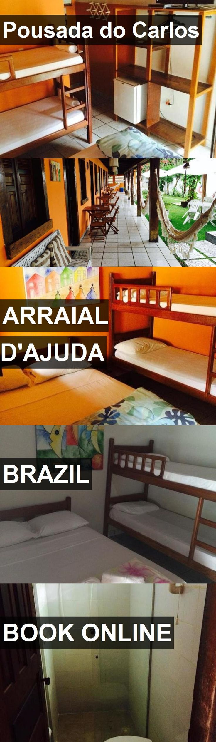 Hotel Pousada do Carlos in Arraial D'Ajuda, Brazil. For more information, photos, reviews and best prices please follow the link. #Brazil #ArraialD'Ajuda #PousadadoCarlos #hotel #travel #vacation
