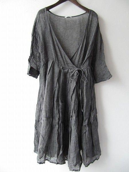 wrap dress - toujours   drop