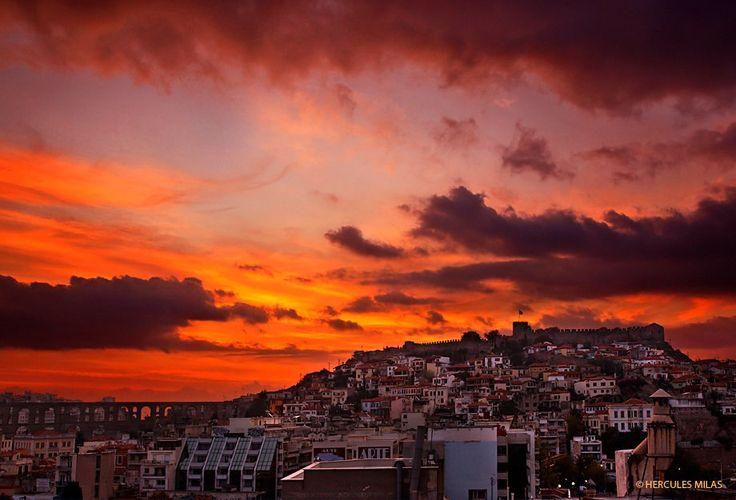 Sunrise in Kavala,Macedonia Greece gy Hercules Milas