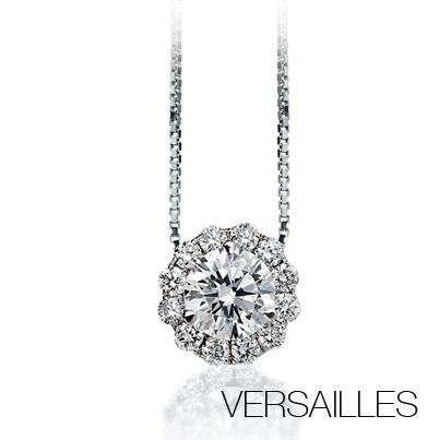 #Bibigi | Collana in oro bianco e diamanti.