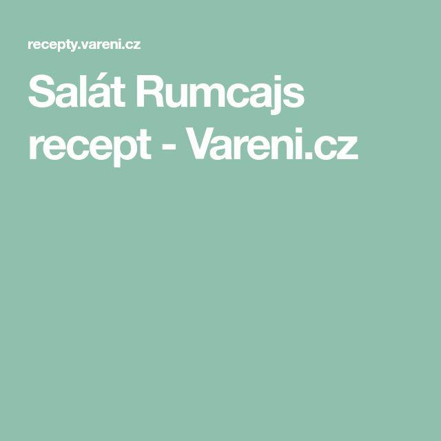 Salát Rumcajs recept - Vareni.cz