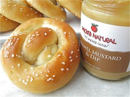 "Soft, scrumptious, and sourdough: pretzels from your ""discard"" starter.   Flourish - King Arthur Flour's blog"