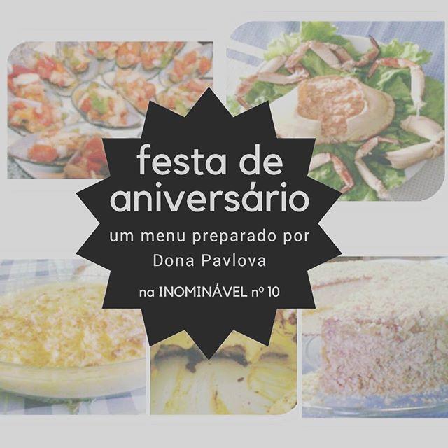 A Dona Pavlova preparou um menu especial para festejar o 2º aniversário da #revistainominavel. Absolutamente delicioso!  https://buff.ly/2zFXhWH  #revistadigital #revistaonline #revista #revistaportuguesa #portuguesemagazine #portugal #bookstagram #instadaily #leitura #culinaria #menudefesta #festadeaniversario #festa  [link in bio]