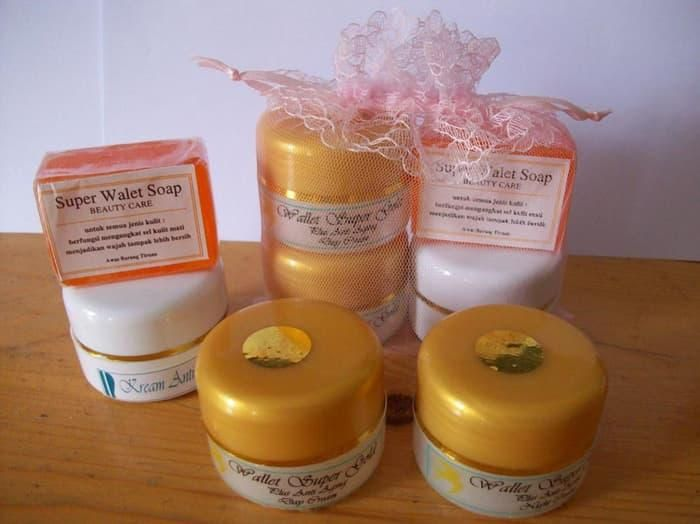 Jual Cream Walet Gold Original Pemutih Wajah Krim Wallet Burung Walet Kulit Produk
