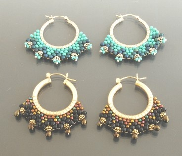 Instructions Of Bead Weave Earrings | ChineseFashion