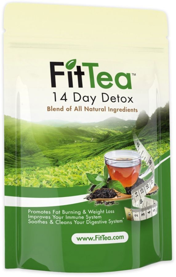 $14.99 FitTeaTM 14-Day Detox Tea   loose leaf tea that promotes fat burning and weight loss with a powerful blend of organic green tea, Oolong Wu Yi, Garcinia Cambogia Extract and more.