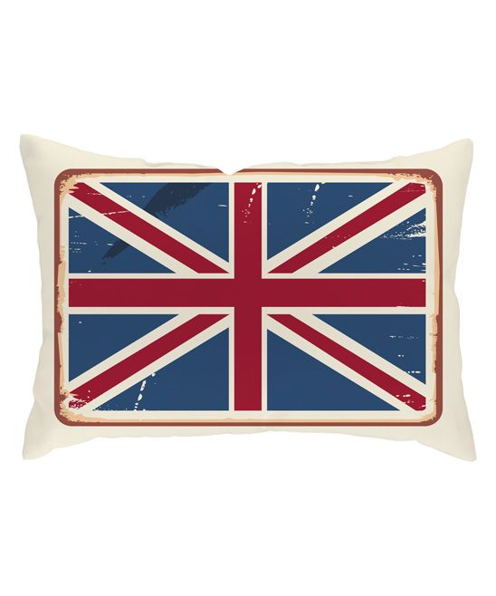 British Pride Throw Pillow