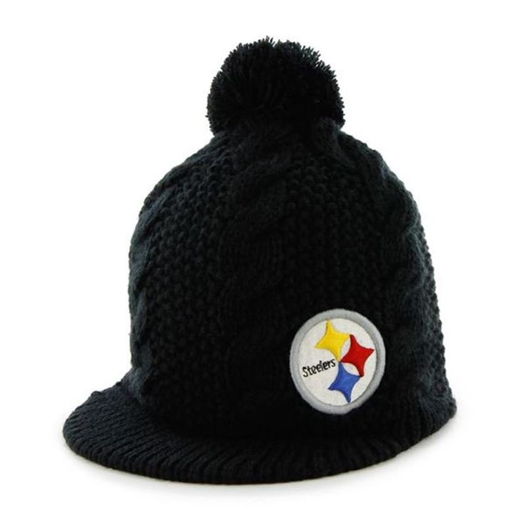 Pittsburgh Steelers '47 Brand Women's Mount Snow Knit Hat