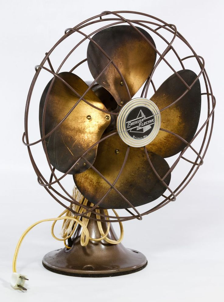 Lot 630: Emerson Electric Table Fan; Model #6250-M, attached metal nameplate