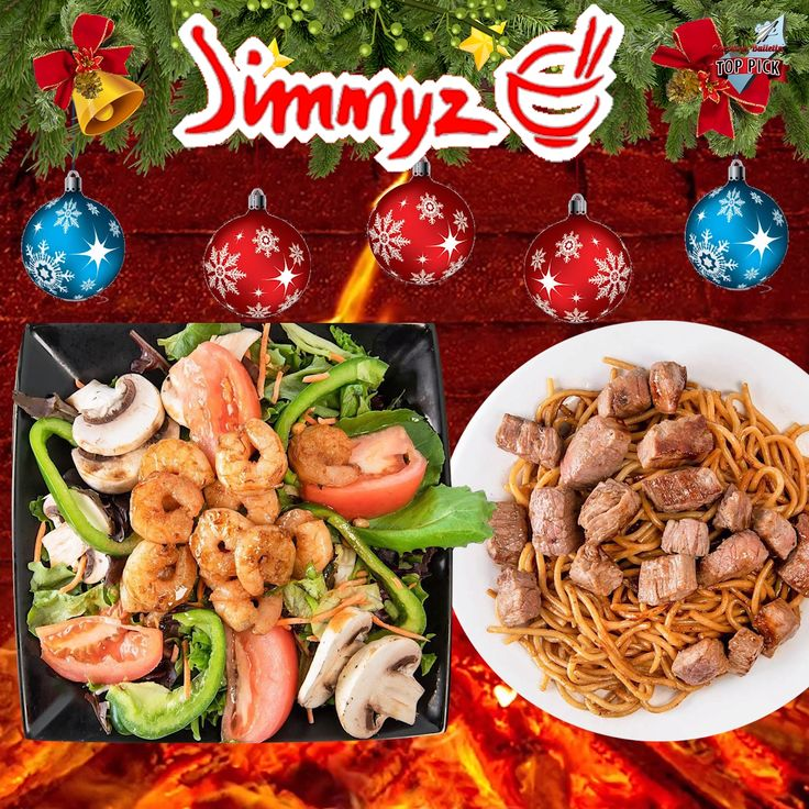 Warm up this holiday season with fresh hibachi plates from