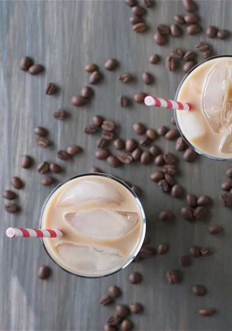 Chill out with a homemade Caramel Iced Latte