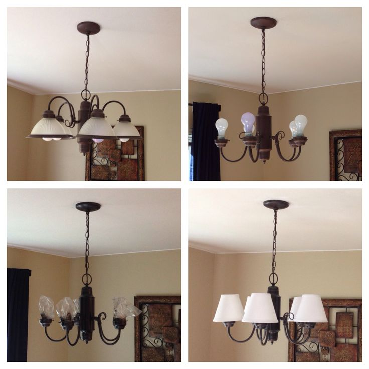 Painting Dining Room Chandelier: 25+ Best Ideas About Chandelier Makeover On Pinterest