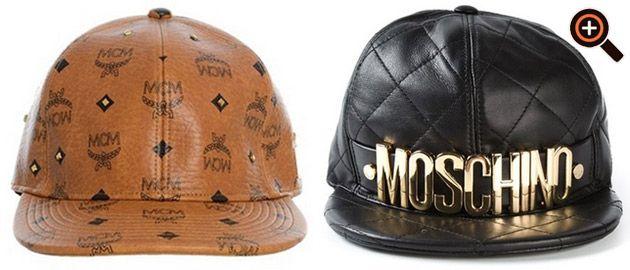 Cap von Gucci, Ralph Lauren, Kenzo, Dsquared, Quiksilver, Nike & Co.