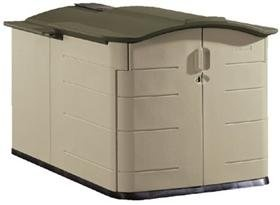 Rubbermaid Slide-Lid Storage Shed #3752. Read more at http://www.zone355.com/rubbermaid-slide-lid-storage-shed-3752/