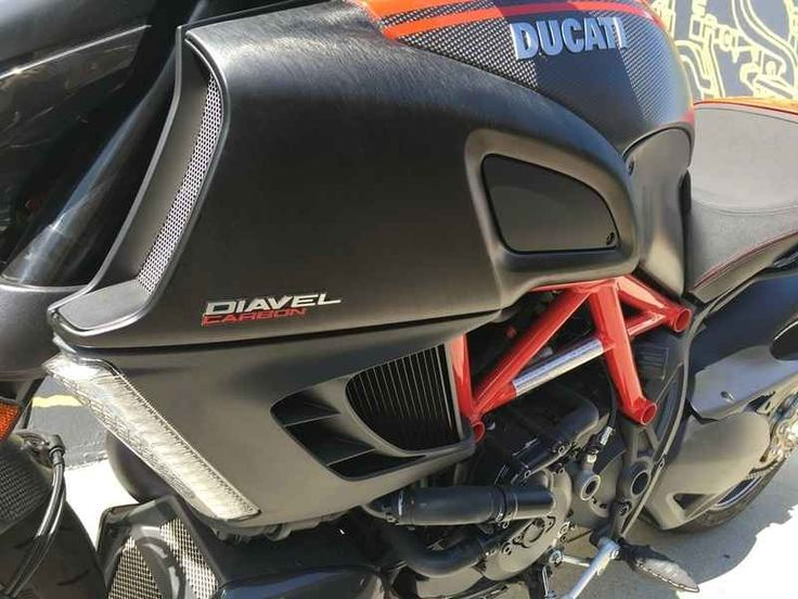 Used 2013 Ducati Diavel Carbon Motorcycles For Sale in California,CA. 2013 Ducati Diavel Carbon, 2013 Ducati Diavel Carbon Standard Features May Include: Carbon details Machine finished forged aluminium Marchesini wheels, reducing weight to 452 lb. Marzocchi forks with diamond-like coating (DLC). Brake disc carriers in milled aluminium. Carbon fibre fairing and black accessories. All these make the Diavel Carbon a magical meeting point of style and performance. Testastretta 11° The Diavels…