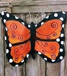 Hey, I found this really awesome Etsy listing at https://www.etsy.com/listing/80257739/screen-door-hanger-decor-orange-and