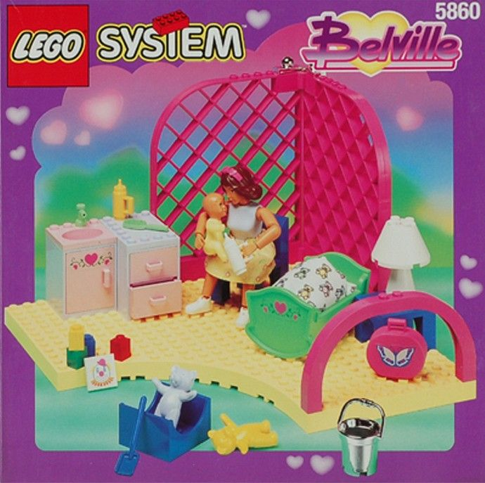 LEGO's Belville 90's Girl Set 5860-1: Love 'N' Lullabies