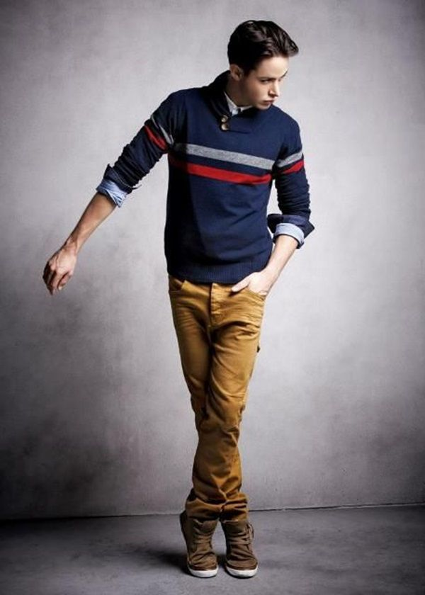Cool Teen Fashion Looks For Boys  (1)