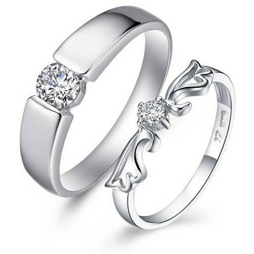 Cute really cheap wedding rings sets