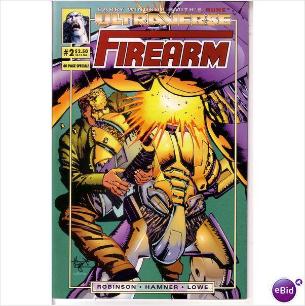 Malibu Comics Firearm #2 Oct 1993 on eBid United Kingdom