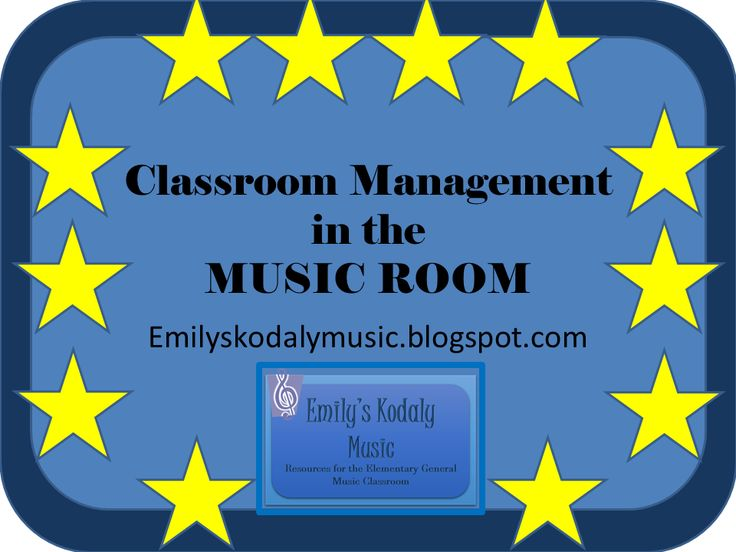 Emily's Kodaly Music: Classroom Management in the Music Classroom