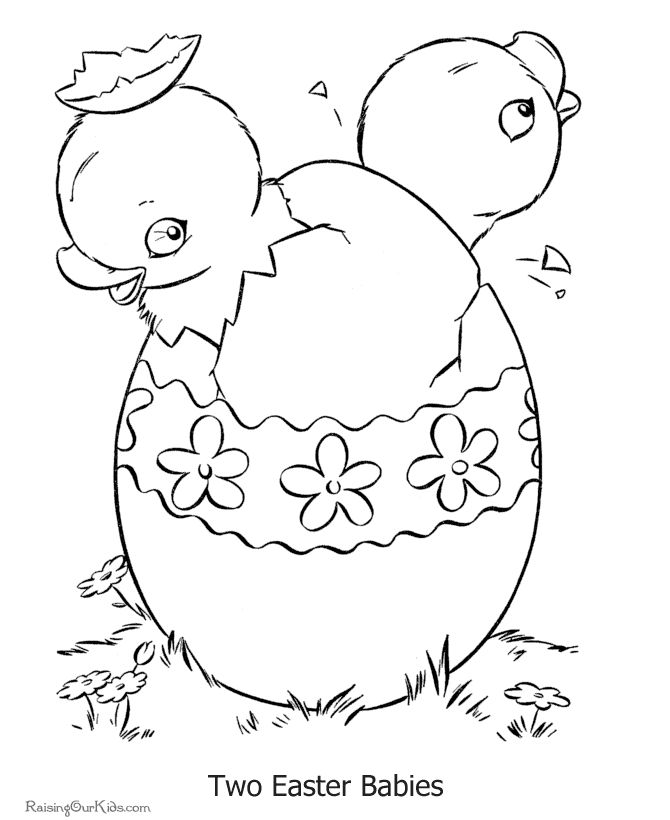Christian Easter Coloring Pages For Preschoolers : 192 best easter coloring pages images on pinterest