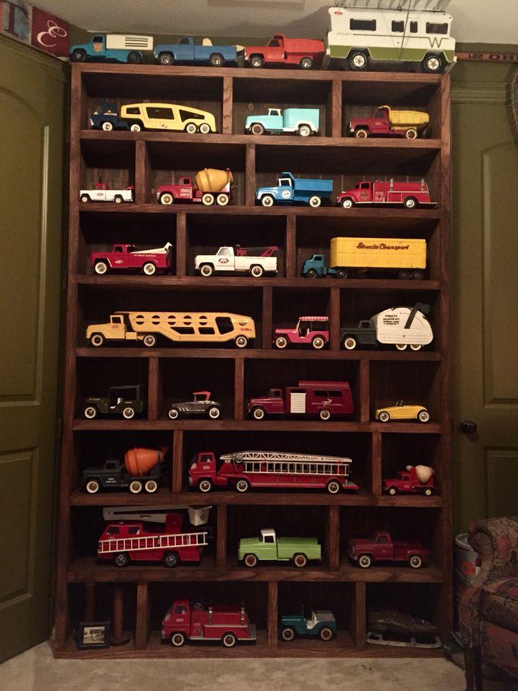 Man cave Tonka Trucks