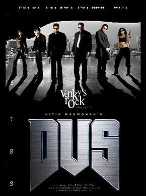 Dus (2005) Hindi Movie Online - Sanjay Dutt, Sunil Shetty, Abhishek Bachchan, Zayed Khan, Shilpa Shetty, Diya Mirza and Esha Deol. Directed by Anubhav Sinha. Music by Vishal-Shekhar. 2005 [U/A]