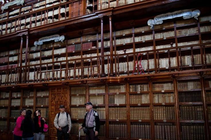 Em Puebla, no México, está a mais antiga biblioteca pública do Novo Mundo, a Biblioteca Palafoxiana. Fundada em 1646, a biblioteca é administrada por uma organização sem fins lucrativos localizada em uma enorme casa do século XVI