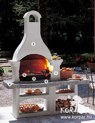 Lanzarote2 olasz kerti grill