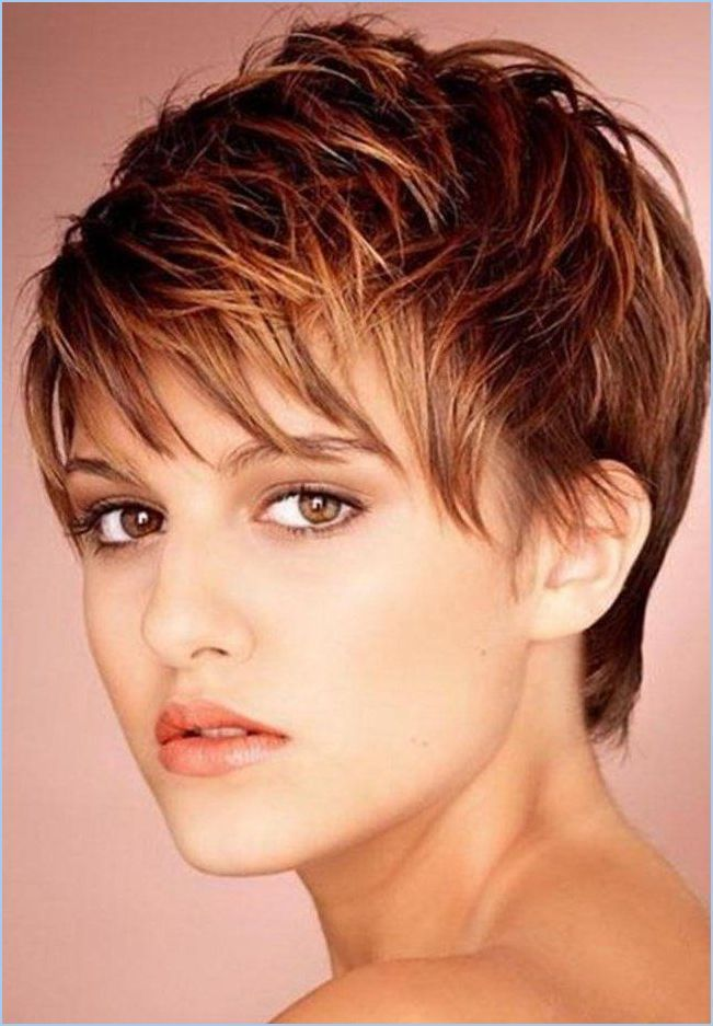 great color short hairstyles