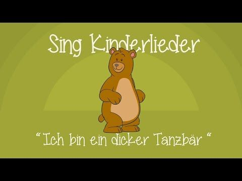 Counting to five - Ich bin ein dicker Tanzbär - Kinderlieder zum Mitsingen | Sing Kinderlieder - YouTube