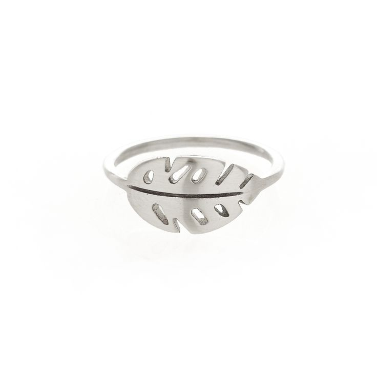 Silver delicious monster ring