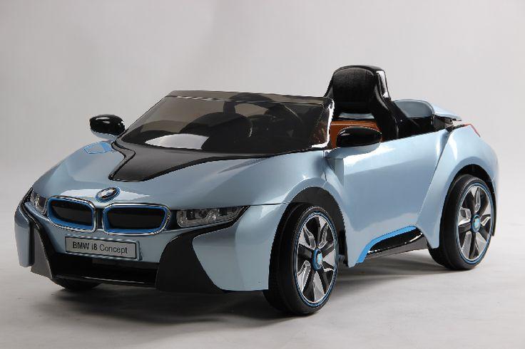 AUTO ELETTRICA BMW I8 CELESTE nm - LT838_CELESTE