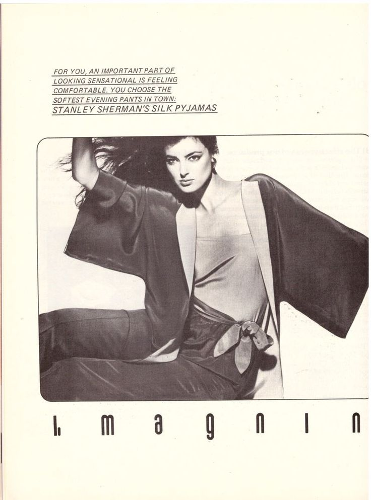 1980 I. Magnin Stanley Sherman Victor Skrebneski 2pg Print Advert Vintage Ad 80s | eBay