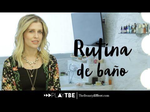 La rutina de baño de Eugenia Debayle | The Beauty Effect - YouTube