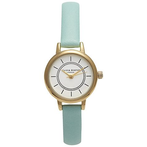 Buy Olivia Burton Women's Colour Crush Mini Leather Strap Watch Online at johnlewis.com
