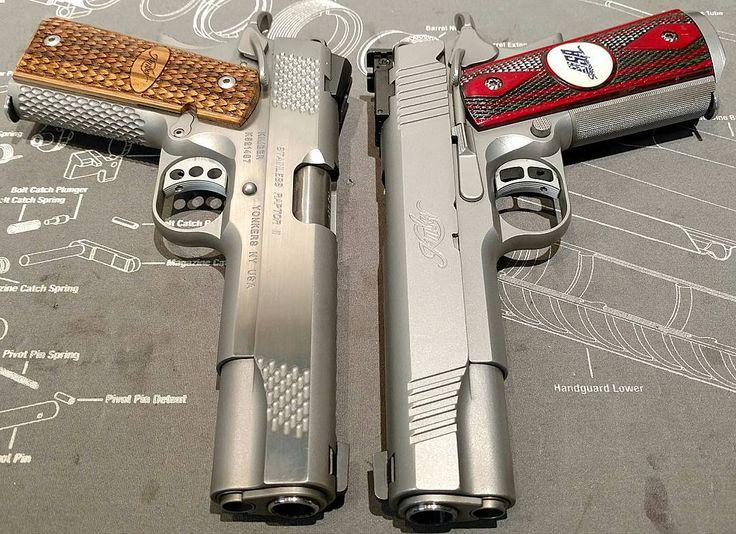 1911 Porn Kimber 45's hangin out.... #1911porn #kimber #1911 #45 #gunporn #gun #2a #merica #weapons #dailybadass #gunsdailyusa #gunpics #igmilitia #righttobeararms #handgun #firearmphotography #gunlife #voterepulican #norcal by donluppo