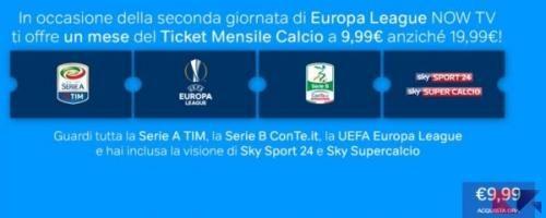 Tecnologia: NOW #TV: il #calcio di Sky a 10  per un mese in offerta limitata (link: http://ift.tt/2dcbYYc )