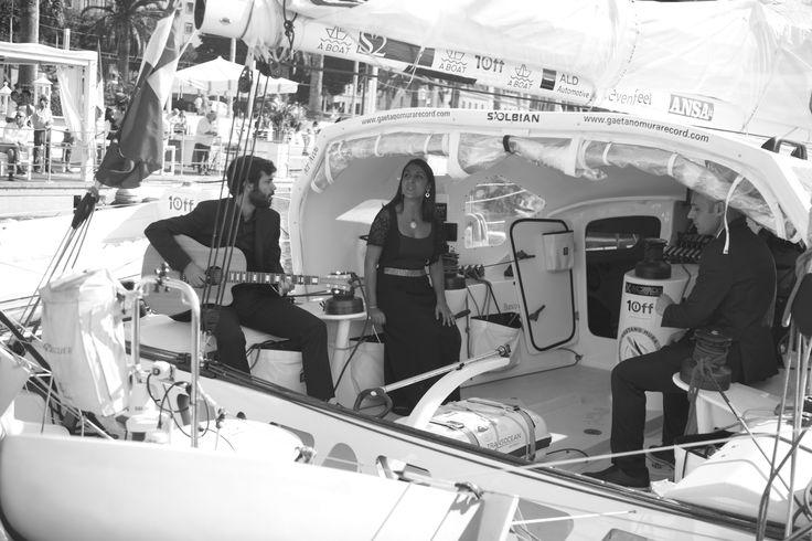 Musica a bordo, con le note dei Cant'Alia