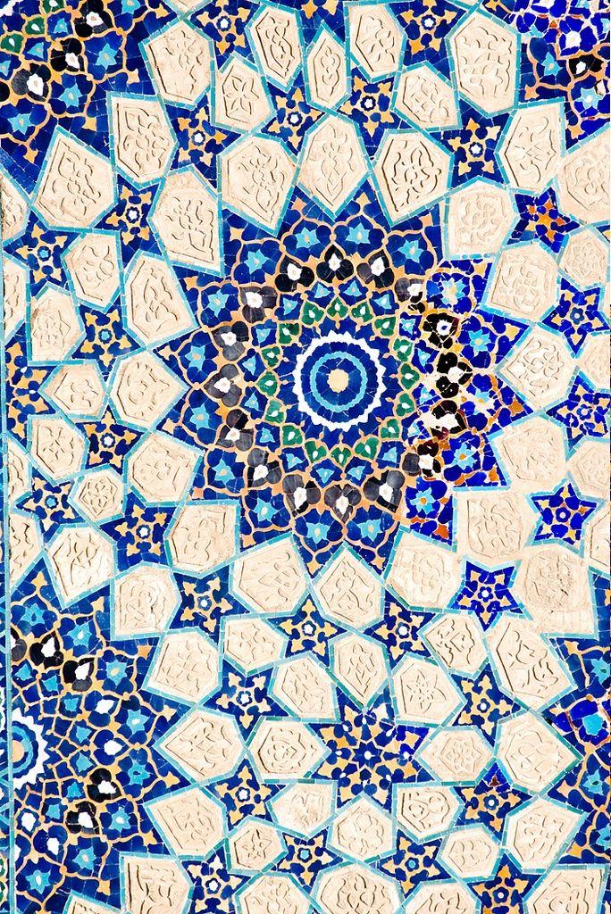 uzbek mosaic art - tile