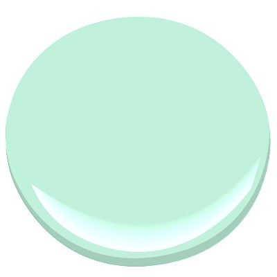 This is going to be the color of my bedroom Benjamin Moore - Santa Barbara Green 2037-60