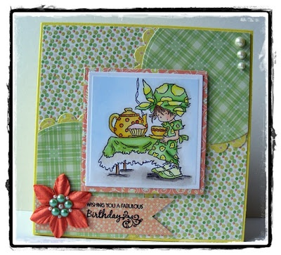 Lili of the Valley, Verve Stamps, First Edition Paper, Prima
