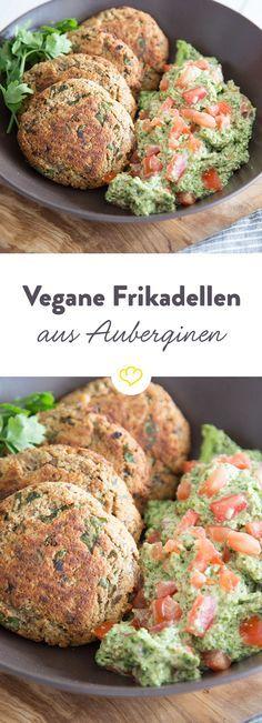 Es geht auch Ohne: Vegane Frikadellen mit Grünkohlpesto