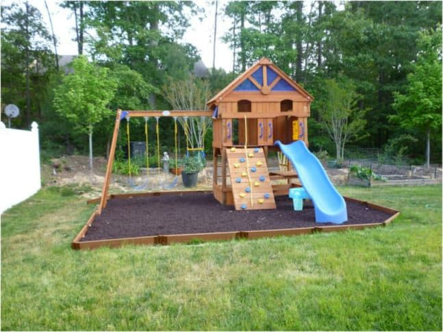 Diy Swing Sets And Slides For Amazing Playgrounds Backyard For Kids Swing Set Diy Backyard Playground