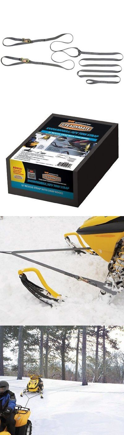 Other Snowmobiling 4847: Steadymate 15543 Snowmobile Tow Strap -> BUY IT NOW ONLY: $30.89 on eBay!