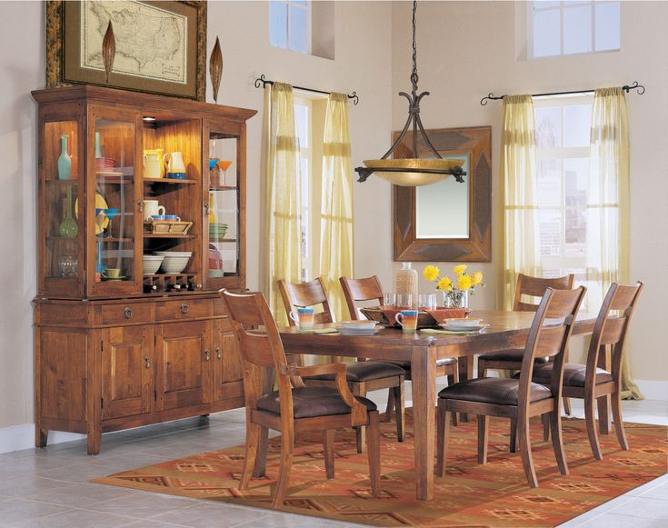 Dining Room Sets with Hutch - Best Quality Furniture Check more at http://1pureedm.com/dining-room-sets-with-hutch/