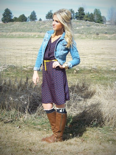 Stylin' Mommies Dress: Gap Denim Jacket: Forever 21 Belt: Target Boot - Best 25+ Target Boots Ideas On Pinterest Teacher Style, Teacher