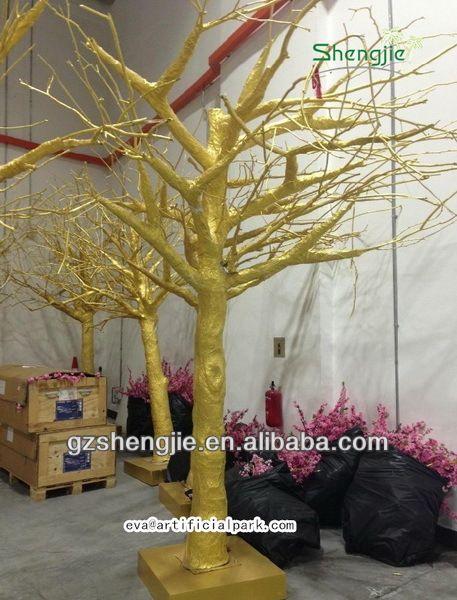 China atacado professtional f brica de fazer ouro frp - Arboles artificiales grandes ...