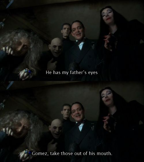 Addams Family Values. Possibly the best moment in this movie